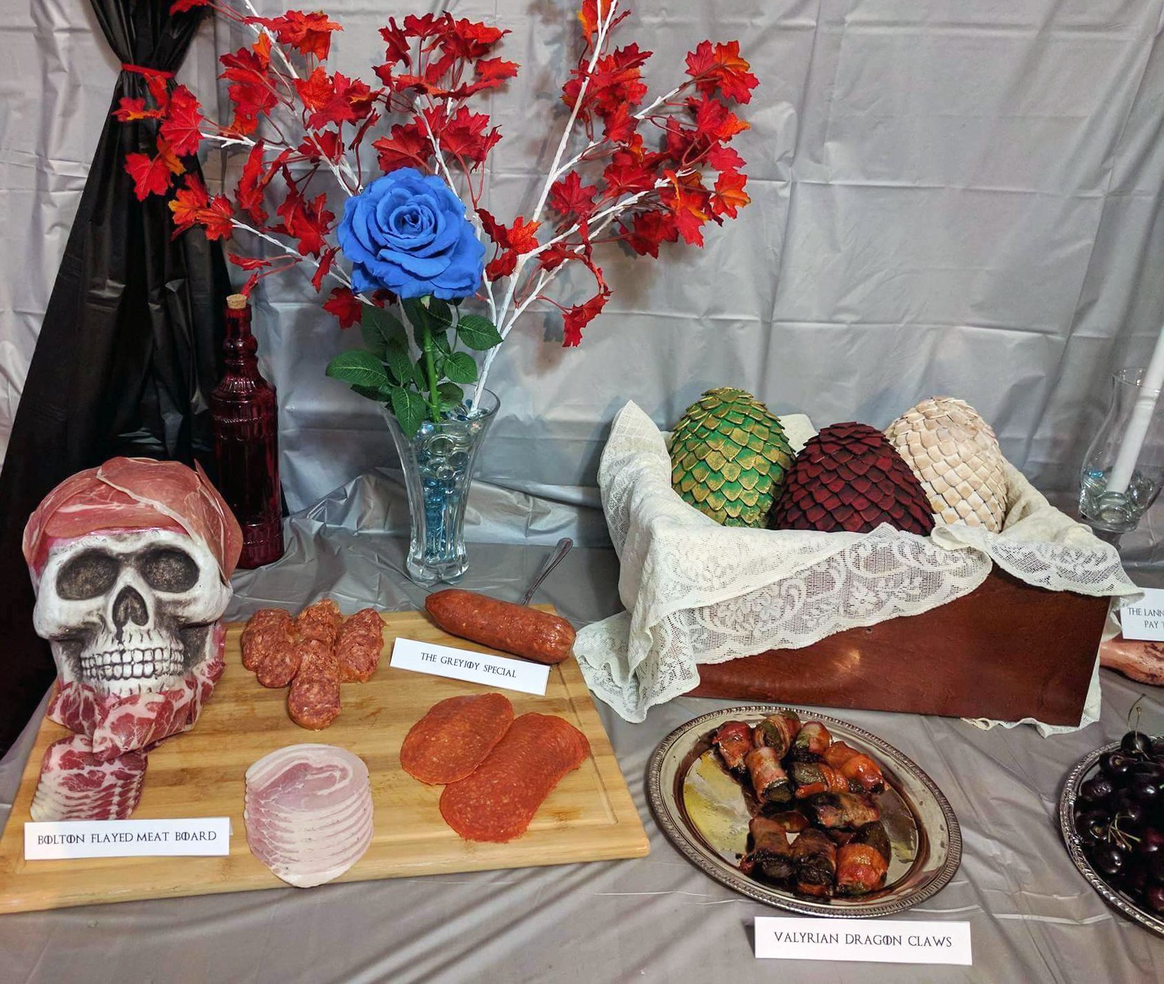 Game of Thrones party food decorations